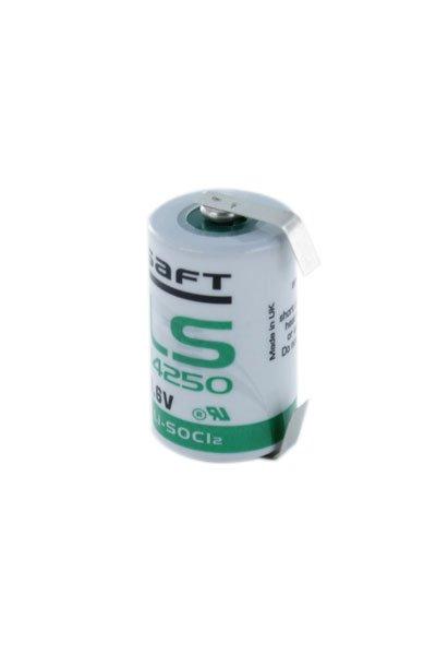 Saft 1x 1/2 AA batterij