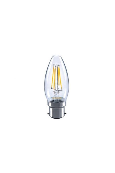 Sylvania B22 LED Lamp 4W (37W) (Candle, Clear)