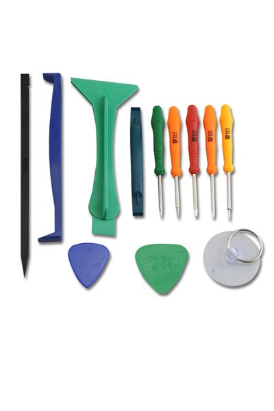 Basic tool set for phone, tablet or laptop, 12-pieces