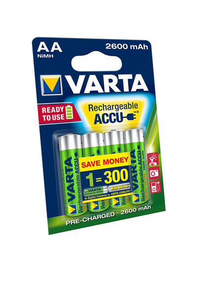 Varta BO-VAR-AA-2600-4 battery (2600 mAh, Original)