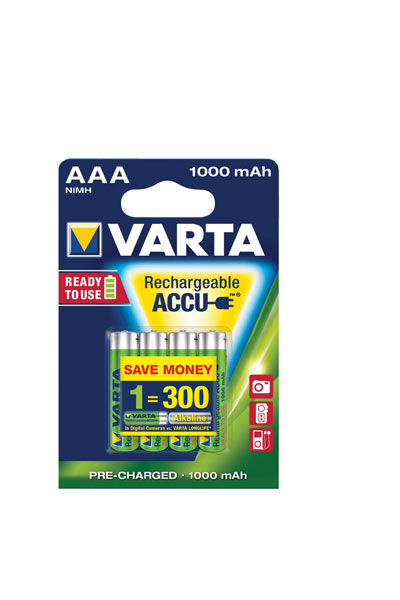 GP BO-VAR-AAA-1000-4 battery (1000 mAh, Original)
