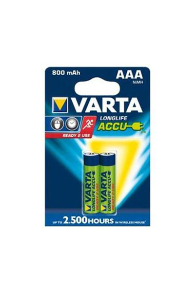 Varta BO-VAR-AAA-800-2 battery (800 mAh, Original)