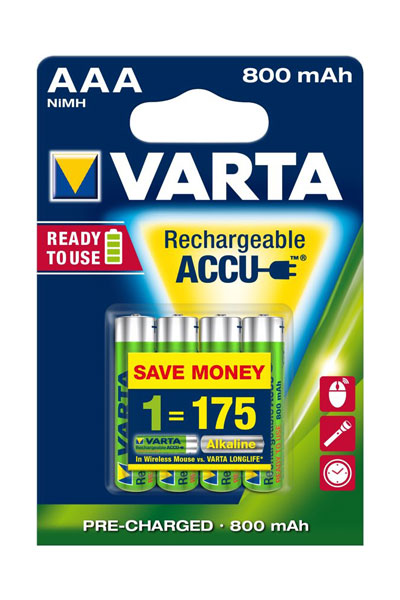 Varta BO-VAR-AAA-800-4 battery (800 mAh, Original)