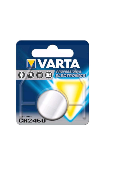 Varta 1x CR2450 Coin cell (610 mAh)