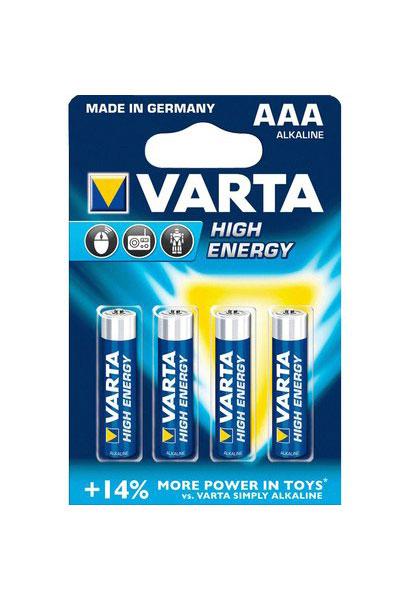 Varta 4x AAA battery