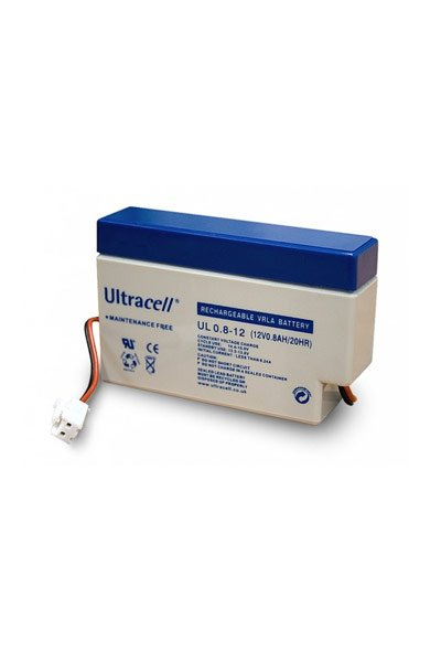 Ultracell BO-WE-UCLA78297 batteri (800 mAh, Gråblått)