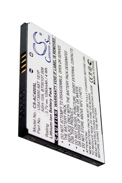 BTC-AC400SL battery (1090 mAh)