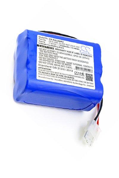 BTC-ADL200RX batería (10200 mAh, Azul)