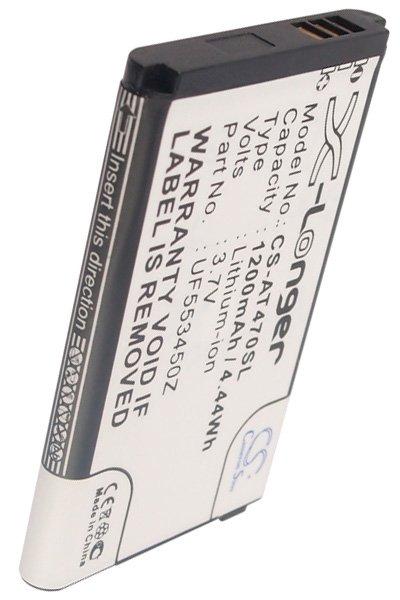 BTC-AT470SL accu (1200 mAh)