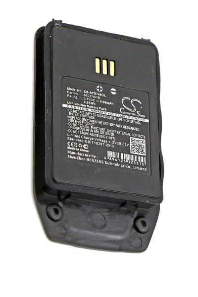 BTC-AYD749CL batterie (1100 mAh, Noir)