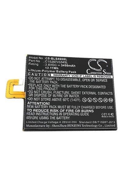 BTC-BLS480SL bateria (3450 mAh, Preto)