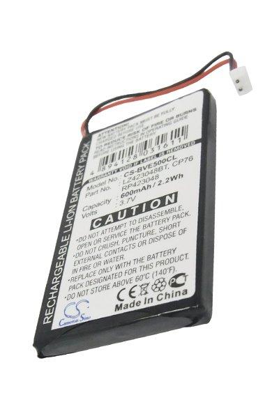BTC-BVE500CL bateria (600 mAh)