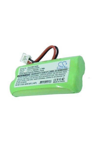 700 mAh battery