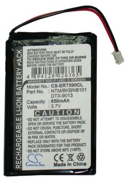 850 mAh battery