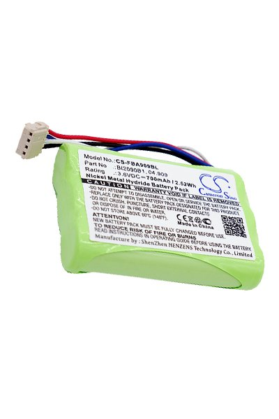 Akku Batterie 700mAh für HBC Cubix wie 04.909 BI2090B1