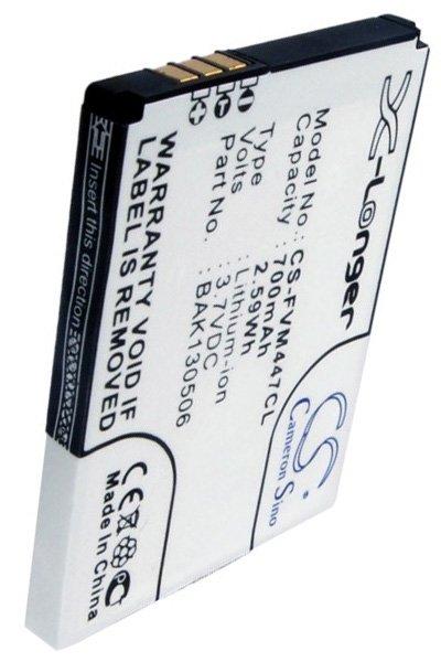 BTC-FVM447CL batterie (700 mAh, Noir)