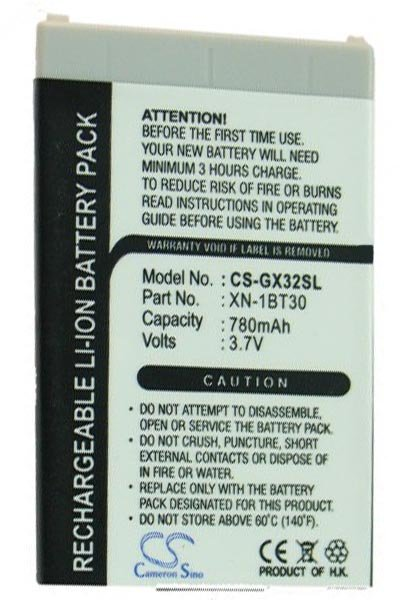 BTC-GX32SL battery (950 mAh, Black)