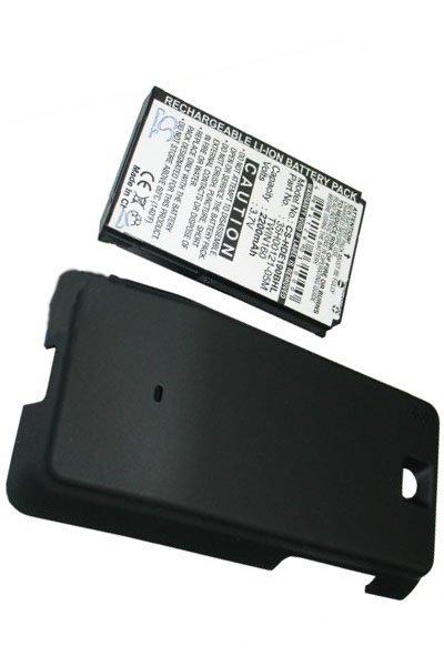 BTC-HDE190BHL batteri (2200 mAh, Sort)