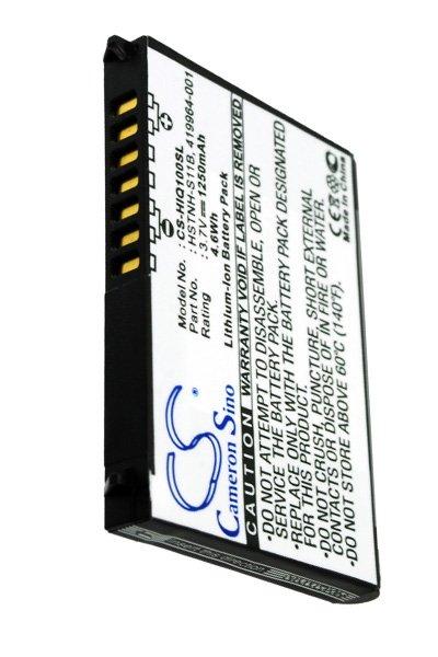 1250 mAh battery