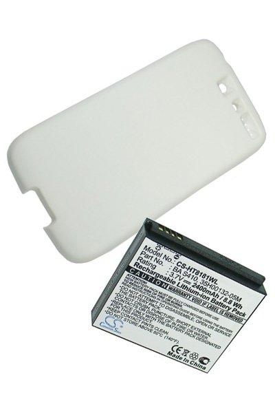 HTC Desire (2400 mAh, Wit)