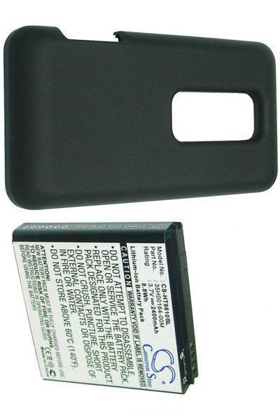 BTC-HT8610BL battery (2400 mAh, Black)