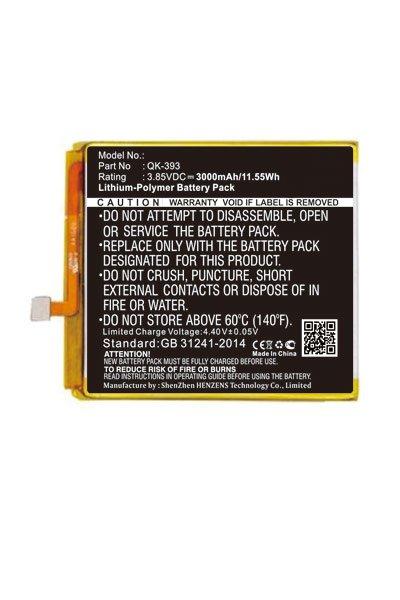 BTC-KKL400SL batterie (3000 mAh, Noir)