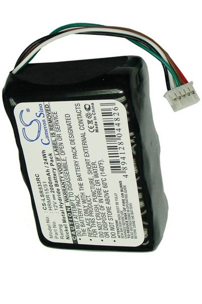 2000mAh Ni-MH Battery for Logitech Squeezebox Radio 533-000050 HRMR15//51