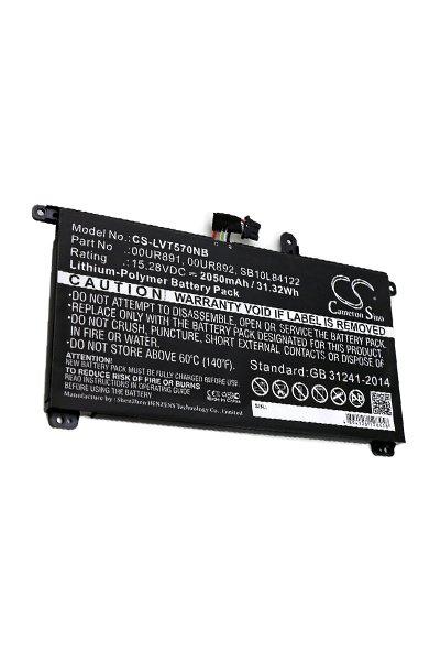BTC-LVT570NB battery (2050 mAh, Black)