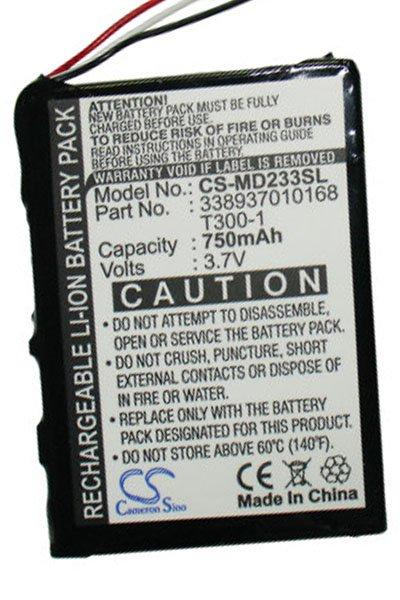 BTC-MD233SL batteri (750 mAh)