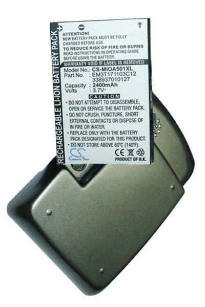 BTC-MIOA501XL batteri (2400 mAh, Sort)