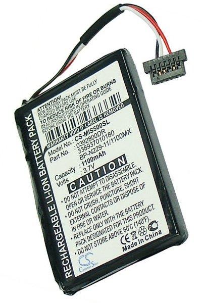 BTC-MIS500SL batteri (1100 mAh)