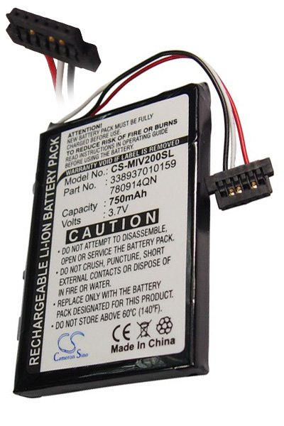 BTC-MIV200SL batteri (750 mAh)