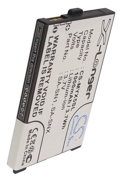 BTC-MYX5SL Akku (750 mAh, Schwarz)