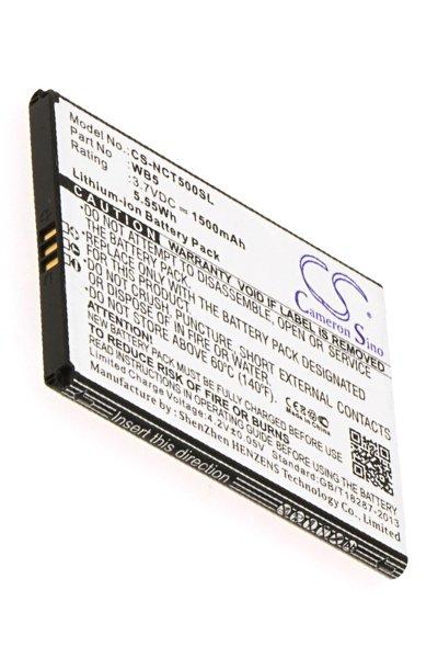 1500 mAh battery