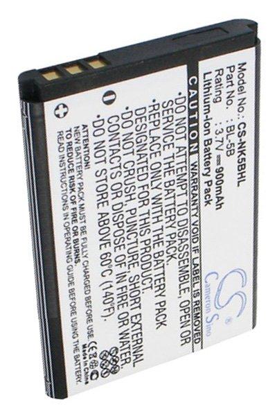 900 mAh bateria