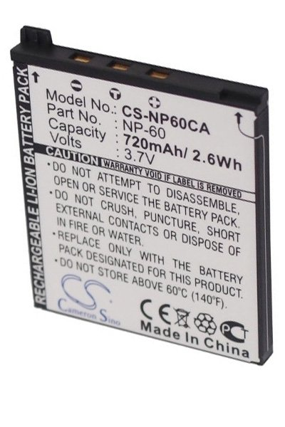 BTC-NP60CA Μπαταρία (720 mAh)