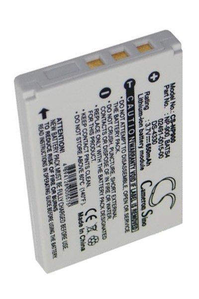600 mAh battery