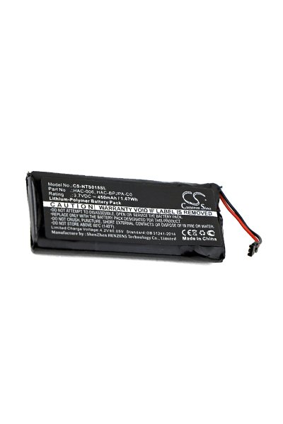 BTC-NTS015SL batteri (450 mAh, Sort)