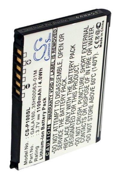 BTC-P100SL battery (1100 mAh, Black)