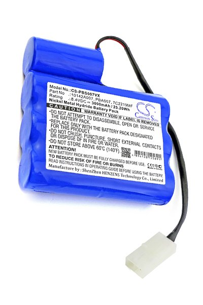BTC-PBS007VX batteri (3000 mAh, Blå)