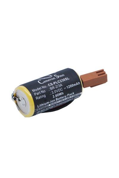 BTC-PLC230SL battery (1200 mAh, Black)