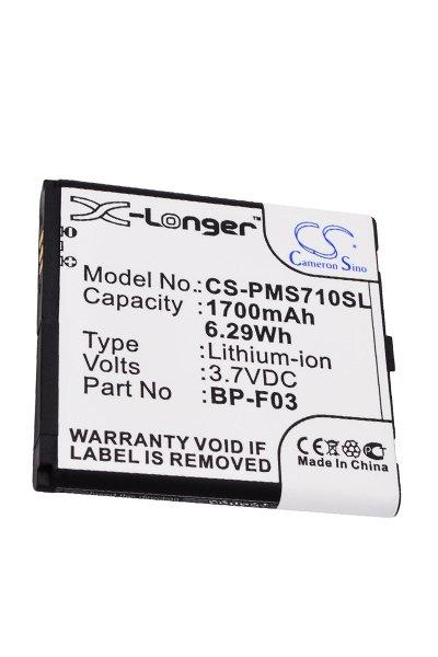 BTC-PMS710SL Akku (1700 mAh)
