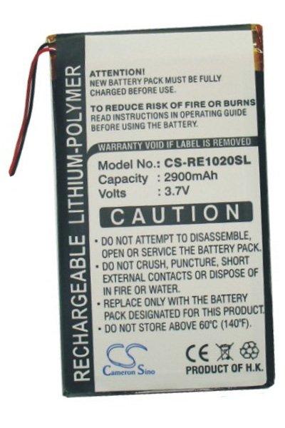 2900 mAh battery (Black)