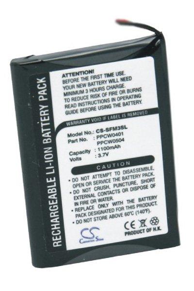 BTC-SFM3SL battery (1100 mAh, Black)