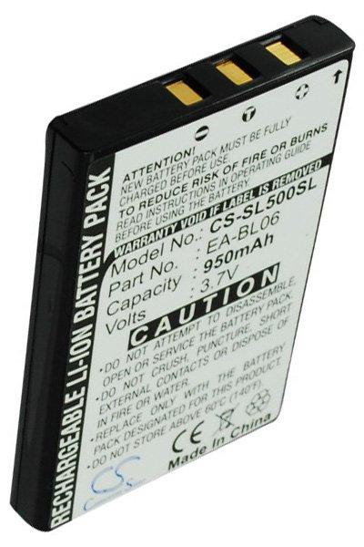 BTC-SL500SL battery (900 mAh, Black)