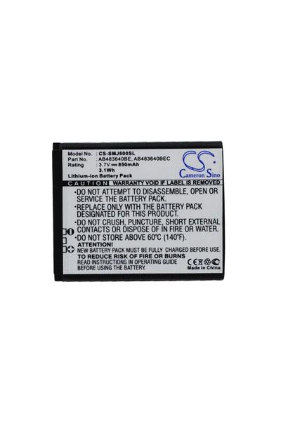 BTC-SMJ600SL batteria (850 mAh)