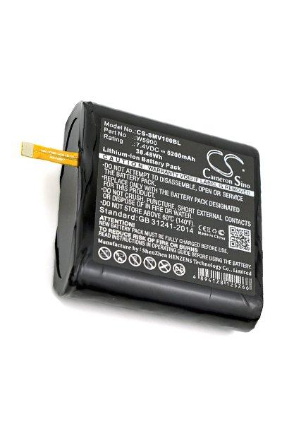 BTC-SMV100BL battery (5200 mAh, Black)