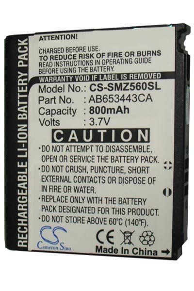 BTC-SMZ560SL battery (800 mAh)