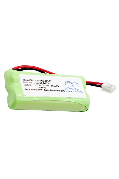 BTC-TCB500SL battery (700 mAh, Green)