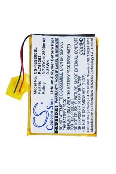 2500 mAh battery